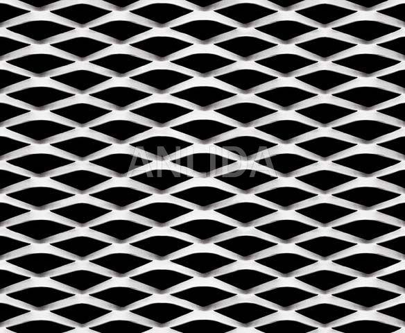 Aluminium Diamond Mesh