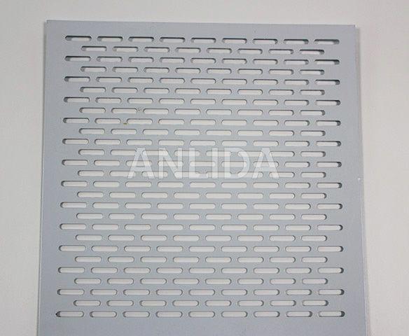 Rectangular Perforated Sheet Metal