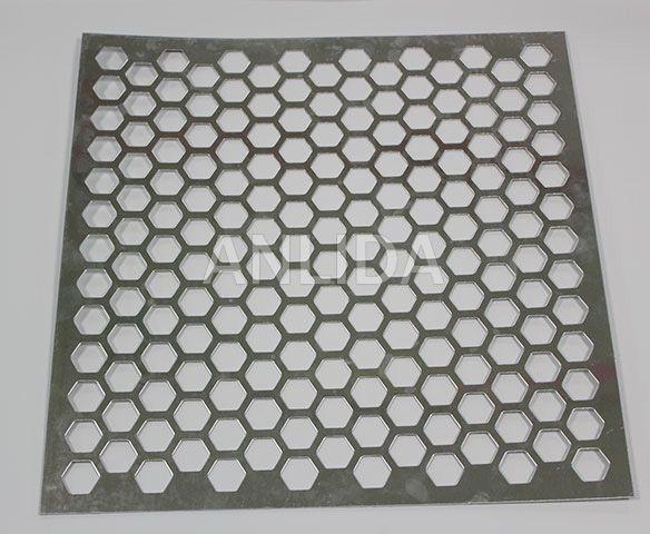 Hexagonal Perforated Metal