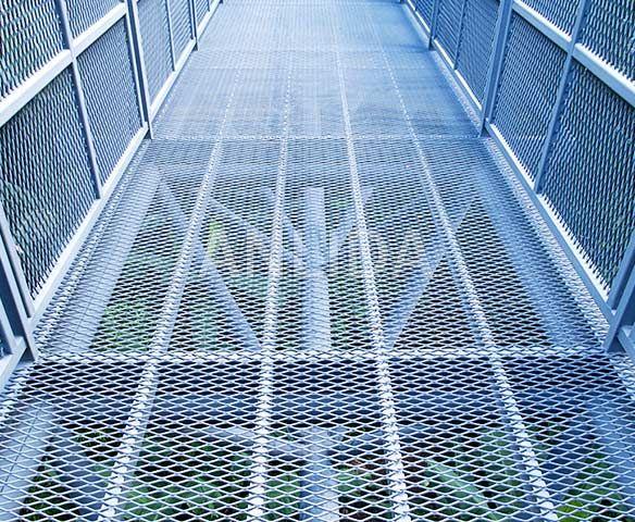 Expanded Metal Walkway Mesh