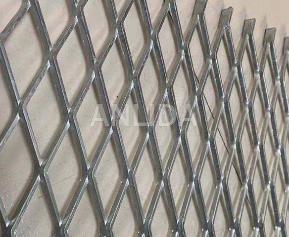 Stainless Steel Diamond Expanded Metal Mesh
